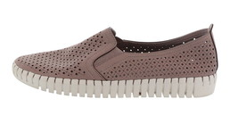 Skechers Perforated Slip-On Shoes Lilac 7.5M NEW A351840 - $48.49