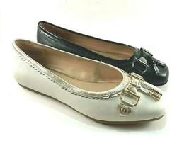 Aerosoles Mint Julep Leather Round Toe Ballet Flats Choose Sz/Color - $55.20