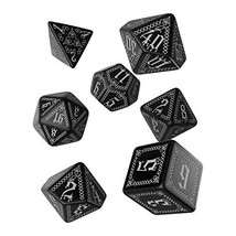 Q WORKSHOP Pathfinder Carrion Crown Rpg Ornamented Dice Set 7 Polyhedral... - $12.27