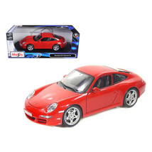 Porsche 911 Carrera S Red 1/18 Diecast Model Car by Maisto 31692r - $46.47