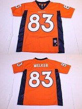 Youth Denver Broncos Wes Welker S (8) Jersey (Orange) NFL Team Apparel - $18.69
