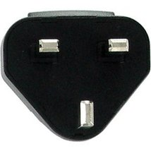 BlackBerry UK Adapter Plug for use with AC [Electronics] - $4.98