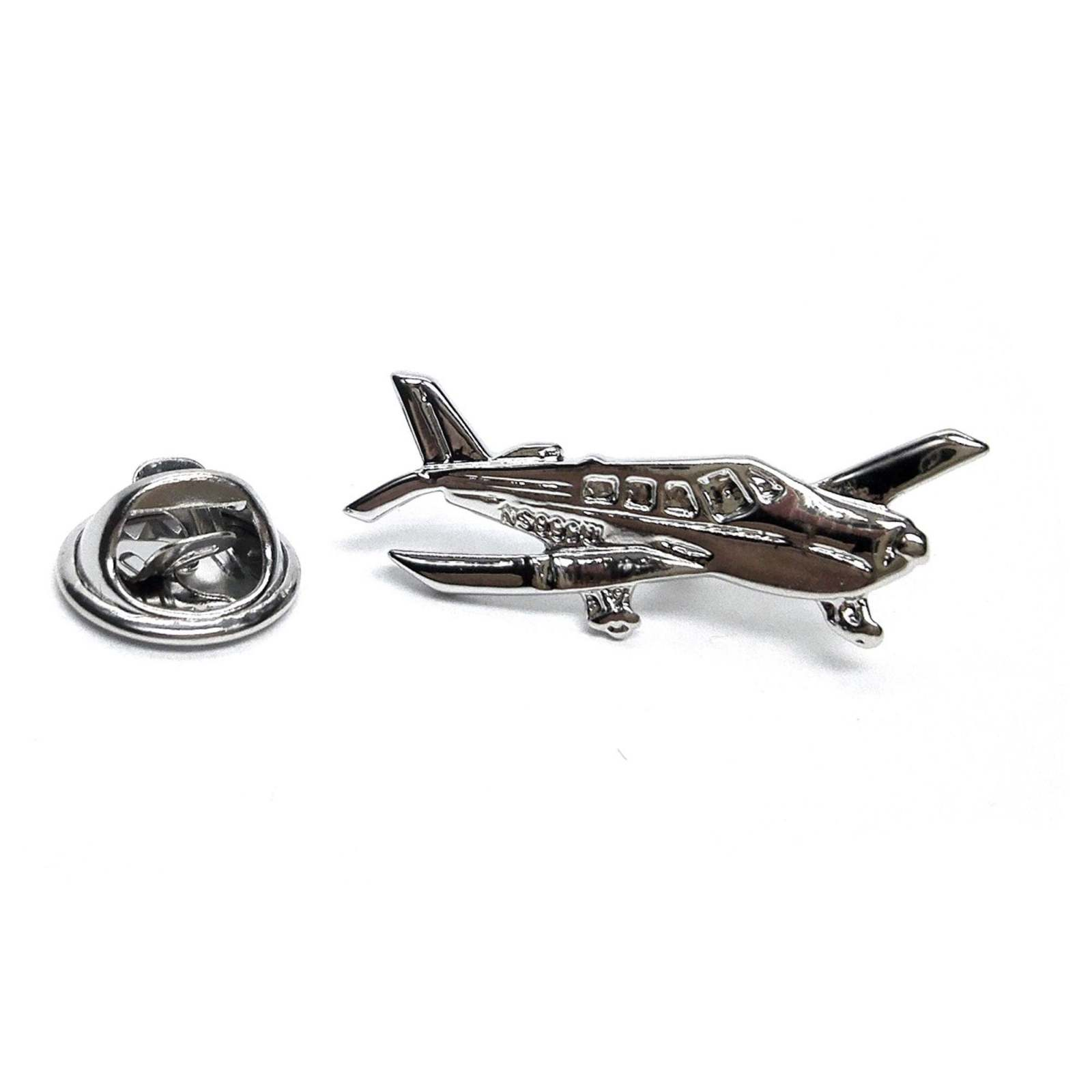 Piper Archer Aeroplane tie pin, Lapel Pin Badge, in gift box