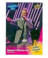 Blake Lewis trading card (Singer) 2009 Upper Deck American Idol #051 - $4.00
