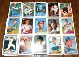 Vintage 1989 Topps 750+ Baseball Card Lot Huge Set (Complete?) - $29.69
