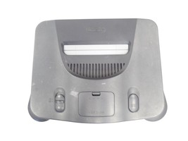 Nintendo 64 Launch Edition Charcoal Grey Console (NTSC) for parts - $29.99
