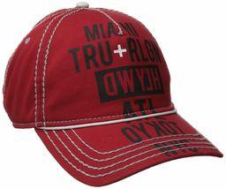 True Religion Men's World Tour Cities Print Baseball Trucker Hat Cap TR1952 image 6
