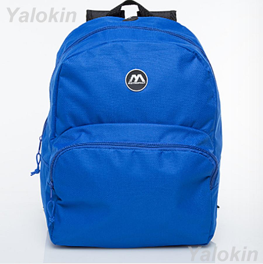 NEW Unisex Lightweight Travel Sports School Rucksack Backpack Shoulder Book Bag