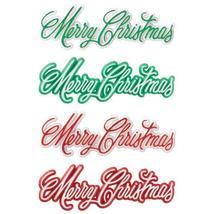 Merry Christmas Script Assortment Layon - $6.33+