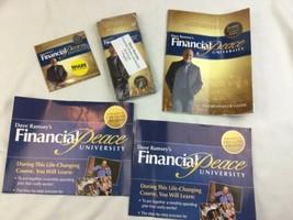 Dave Ramsey Financial Peace University Coordinator Guide Brochures Poster - $18.79