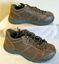 Arizona Jean Company Child Size 2 M Oxford Shoes Boys or Girls Chunky Brown  - $21.77