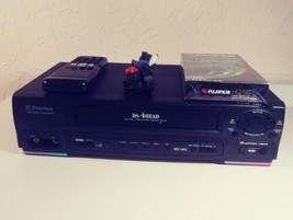 Emerson VCR/VHS (EWV401A)  Remote Control, RCA Cables & New Blank Tape Included. - $44.09