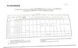 NEW ELASTIMOLD 02500270BG ELBOW COMPRESSION CONNECTOR image 5