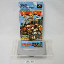 Nintendo Snes Super Donkey Kong 2 Verpackt Aktiv Sfc Spiele 2002-111 - $14.05