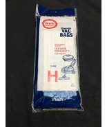 NEW Type H Hoover Vacuum Cleaner Replacement Bag (3 Pack) - $8.00