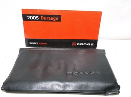 2005..05 DODGE DURANGO /OWNER'S/OPERATOR/USER MANUAL/ BOOK/GUIDE/CASE image 1