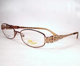 Apple Bottoms 742 Brown 1 Woman Eyeglasses Metal - $59.39