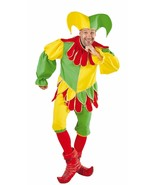 Deluxe Medieval Court Jester / Fool Costume  - $61.21