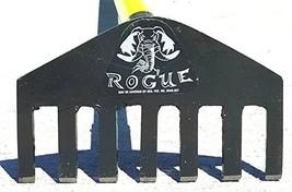 Rogue Garden Rake with 60 Inches Fiberglass Handle, Heavy Duty 8 Inch Me... - $63.82
