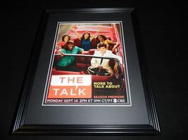 The Talk 2015 CBS Framed 11x14 ORIGINAL Advertisement Julie Chen - $32.36