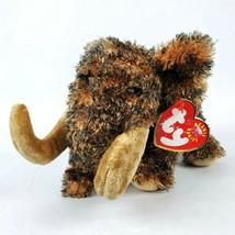"TY Beanie Babies Giganto 7"" Plush Wooly Mammoth Prehistoric Elephant Stu... - $12.12"