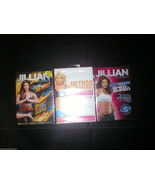 New DVD 3 Lot Yoga Shed & Shred Method Jillian Michaels Tracy Anderson 6 Workout - $18.00