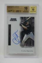 2004 Bowman Sterling #CQ Carlos Quentin AU Rookie Beckett 10 PRISTINE (B) - $94.99