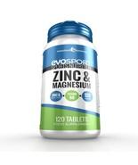 EvoSport Zinc & Magnesium ZMA 120 Tablets - $7.79