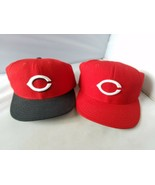Cincinnati Reds Gorra Gorras Par de 2 MLB 59fifty New Era Lana Size 7 1/2 - $51.61