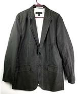 I.N.C. International Concepts Mens Black Sports Coat Jacket Blazer Sz L ... - $25.25
