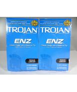 Trojan ENZ Classic Design w Reservoir Tip Premium Lubricant 2 PACK (12 ea){MB-T} - $11.03