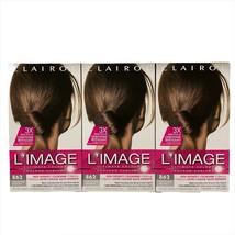 3 Clairol L'Image Ultimate Color 862 Medium Golden Brown Permanent Hair Dye - $29.65