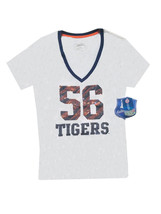 Auburn Tigers #56 Sequined White Women's Shirt Size L - NWT $29.99 - $13.86