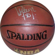 David Robinson signed Spalding NBA Indoor/Outdoor TB Basketball #50- Bec... - $194.95