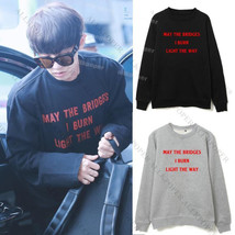 KPOP EXO Chanyeol Sweater Airport Fashion Hoodie Comming Over Unisex Pul... - $9.87