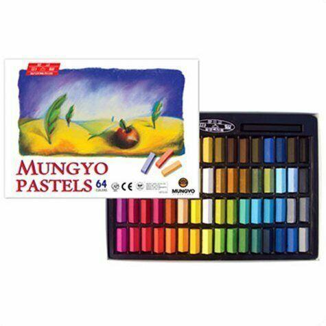 Soft Pastel For Artist With 64 Color Set Square Chalk, Vivid & Brilliant Colors