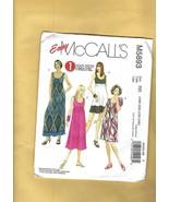 """Patterns - McCALL'S """"1-Hour Dress"""", No. M5893 sizes  18W-20W-22W-24W - $5.00"""