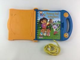 Story Reader Video System Dora The Explorer Book and Cartridge AV Cable PI - $22.72