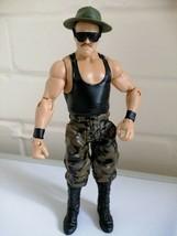 WWE Sgt. Slaughter Wrestling Figure Mattel Basic Series 69 - $16.45