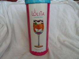"Lolita ""Happy November""  15 oz. hand painted wine glass - $15.00"