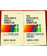 2 Books: 1 and 2 Peter (New International Biblical Commentary) & Ephesians - $36.79