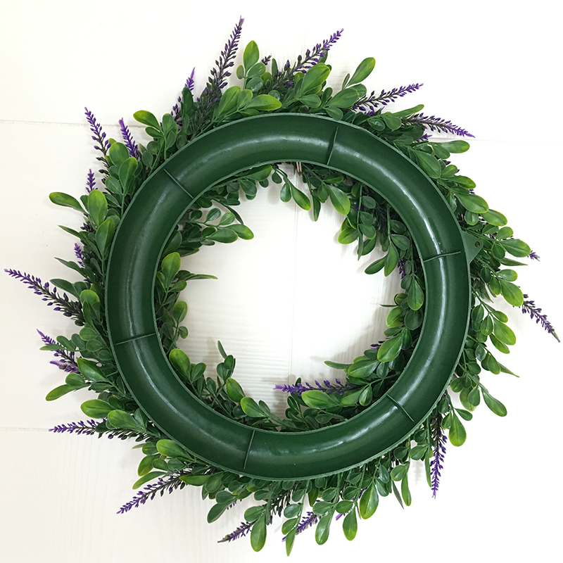 LumiParty Lifelike Wreath Flowers Wedding Party Decor