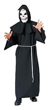 Forum Novelties Men's Super Deluxe Adult Costume Horror Robe, Black, One... - $40.53