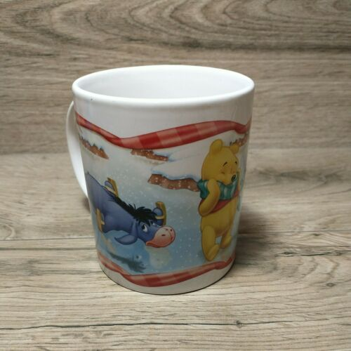 Disney Winnie The Pooh Coffee Mug Item #1836FY06 Pooh Tigger Eeyore Ice Skating - $19.80