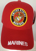 United States Marine Red Multi-Color Baseball Cap Adjustable Hat - NEW - $14.99