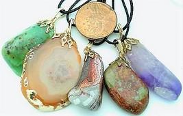 Baroque Style Gemstone Pendant Lot 8 - $15.00