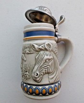 Vintage 1992 Miniature Avon Stein Endangered Species - Mountain Zebra - ... - $9.89