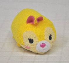 "Miss Bunny Disney Store Tsum Tsum Bambi Rabbit Yellow Pink Nwot Mini 3.5"" Plush - $9.65"