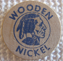 """Wooden Nickel From: """"Chevion Challenge For Profit"""" - (sku#4967) - $7.50"""