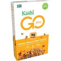 Kashi GO, Breakfast Cereal, Honey Almond Flax Crunch, 14 Oz - $5.50